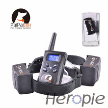 Heropie 500M Rechargeable Diving Swimming Waterproof Blueback light Shock Vibra Remote Control Electric Dog Training Collar(China)