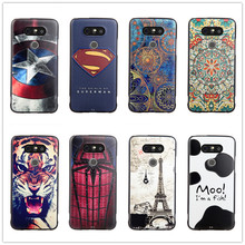 For LG G5 Case Silicon 5.3 inch 3D Cover Slim Cartoon Cute Luxury Soft Relief Coque G5 H868 Fundas Skin Etui Capa Hoesje Caso(China)