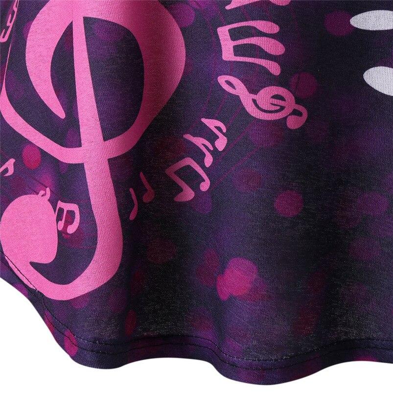 Women tshirt 2018 For Summer Sexy Music Notes Print O Neck Short Sleeve Casual Shirt Tops Wholesale feminina camiseta #FJ19 (5)