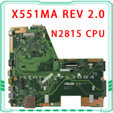 Hot selling F551MA X551MA D550M motherboard for Asus X551MA REV2.0 USB3.0 HD Graphics Mainboard DDR3 Processor N2815 100% tested
