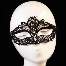 20Pc Sexy Masque Black Lace Face Mask Halloween Masks Upper Half Venetian Masquerade Carnival Masks Dance Masque Mardi Gras
