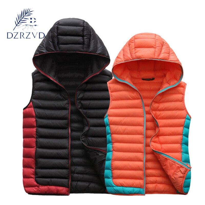Autumn winter men women Sleeveless cotton vest warm down coat women cheap collar Vests jacket Designer vest New 2017 6821<br><br>Aliexpress