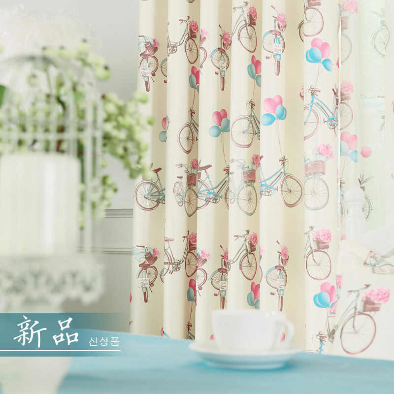 Blackout Window Drapes For Children Room Cartoon Girls Fabric For Curtains Kid Princess Blind Lace Tulle Bedroom Decor New Panel