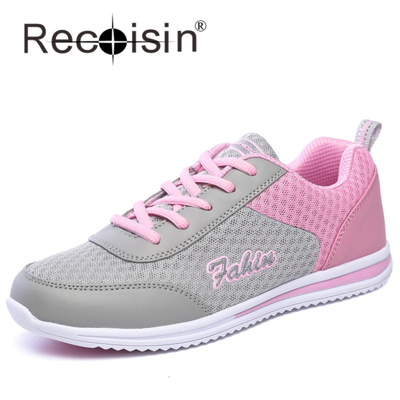 RECOISIN Women Summer Casual Shoes Outdoor Walking Shoes Campus Leisure Shoes Branded Designer Female Zapatillas Mujer 958<br><br>Aliexpress