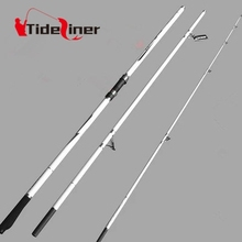 4.2m surf casting carbon fiber fishing spinning rod white color for carp sea surfcasting fishing rod pole vara de pesca