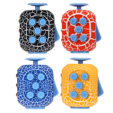 Buy Easter Egg Shaped Fidget Cube Funny Squeeze Decompression Dice Toy ADHD Stress Reliever Fidget Toy for $4.44 in AliExpress store