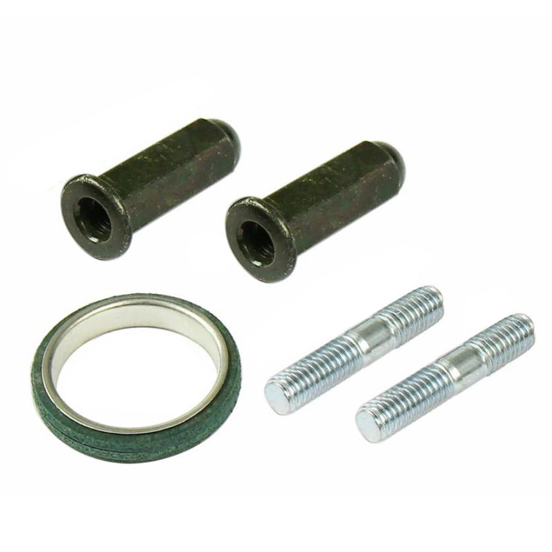 Gasket-Set Motor-Scooter Metal-Exhaust Chinese with Studs Nuts Fit-For Most Good-Quality title=