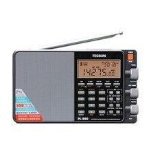 TECSUN PL-880 Full Band FM Радио LW/SW/MW DSP Радио SSB PLL Синтезированный Приемник С Антенной Наушники портативные Стерео FM Радио