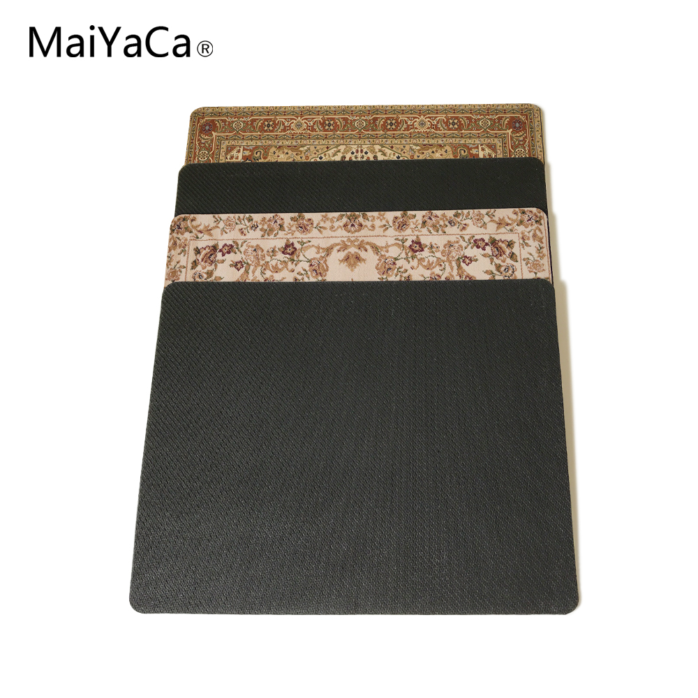 MaiYaCa NEW Customized Supported Fashion Design Cool Persian Rugs Mouse Mats Anti-Slip Rectangle Mouse Pad 250X290 MM 2