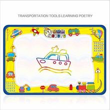 2 pcs Children Kid Girls Boys Toy Baby Kids Children Aqua Doodle Toys 1 Painting Mat 1 Water Drawing Pen Toy Gift