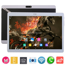 2017 Best New 4G LTE Tablet 10 inch MTK8752 Octa Core 4GB RAM 64GB ROM Dual SIM Cards Android 6.0 3G 4G LTE Phone Tablet 10 10.1(China)