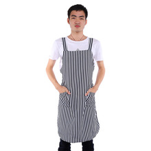 1 Pcs Durable Salon Pro Apron Cape Cutting Hair Barber Hairdressing Lightweight Stripes High Quality(China)