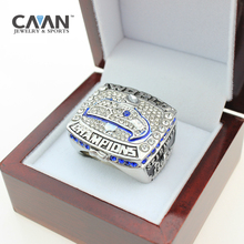 2015 Factory wholesale lowest price for fine jewelry 2013 Super Bowl Seattle Seahawks Championship Ring for men(China)