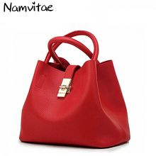 Women Totes Bag Pu Patent Leather Women Bags Mobile Messenger Shoulder Bags Luxury Brand Ladies Handbag Cross Buns Mother Bag(China)
