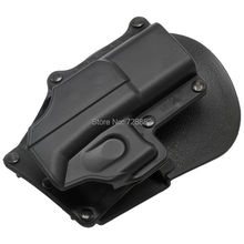 Tactical Right Hand Belt Loop Paddle Platform Pistol Holster for Glock 17 19 22 23 31 32 34 35 Free Shipping