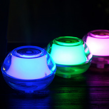 1pcs Creative Crystal LED Night Light Energy Saving USB Air Purifier Nightlight Humidifier Steam Mist Diffuser Air cleaner Hot