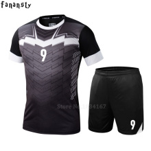 College soccer jerseys men custom football jerseys soccer uniforms youth adult football set suit maillot de foot 2016 2017(China)