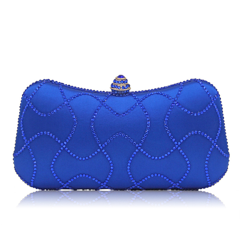 Women deisnger purses and handbags high quality female evening clutch bag luxury ladies crystal inspired handbag handmade purses<br>