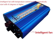 Free Shipping New Arrive 3000W Power Inverter Pure Sine Wave Invertor DC 12V to AC 220V Solar/Wind Power Converter