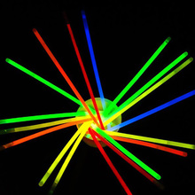 100pcs 8 colors Glow Stick Light Bracelets Necklace Birthday Festive Party Vocal Concert Olympics Supplies Lighting