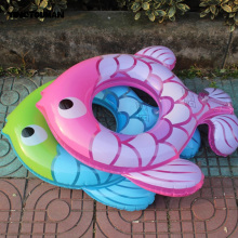 YINGTOUMAN Fish-type Kids Swim Ring Inflatable Swimming Child Life Buoy Child Baby Swimsuit Seat Armpit Circle Outdoor Life Ring(China)