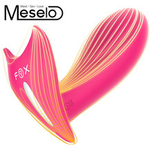 Buy Meselo Wireless Remote Control Intimates Strapless Strapon Vibrator Rechargeable G-spot Dildo Vibrator Climax Sex Toys Women