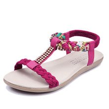 KUIDFAR 2017 Women Sandals Summer Fashion Shoes Woman Beach Ladies Shoes Sandalias Mujer pink