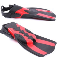 2017 Water Sports Adult Flexible Swimming Fins Submersible Long Swimming Snorkeling Foot Profession Diving Fins Flippers X/XL(China)