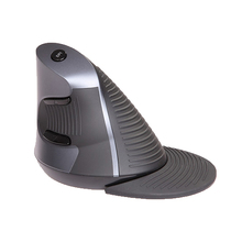 Delux M618 Vertical Wireless Mouse Optical Grab Handle Grip Mause 800-1600 DPI Adjustable USB Computer Mice 2.4Ghz