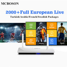 Buy MCBOSON Leadcool TV BOX 1G+8G Android 6.0 RK3229 Quad-core Built IPTV European Live Channel WIFI 4K HD Media Player for $40.01 in AliExpress store