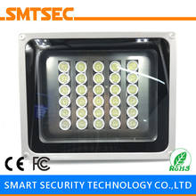 SI-30W 30PCS LED 80M White Light Illuminator DC/AC Angle 15-90 Degrees Optional IP66 Light Lamp For CCTV Security Camera