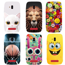 New Fashion Case For Nokia Lumia 610 N610 Case Heros Printed Ultra Thin Cell Phone Cases Fundas Mobile Back Cover Capa