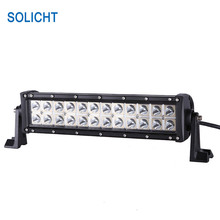 SOLICHT 13.5'' 72W LED Lightbars offroad 12V LED Off road Light Bar For 4x4 Tractor Truck ATV Flood Spot Combo Beam(China)