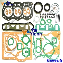 Mitsubishii S3E S3E2 Full Gasket Kit 34694-00053 with Head Gasket For Mitsubishi WS300A Loader S3E9-T Turbo Diesel Engine parts