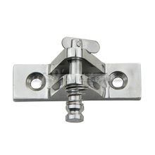 Free Shipping 2pcs Stainless Steel Marine Hardware Set Boat Bimini Top Fitting Deck Hinge 90 Degree Quick Pin