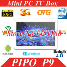 Original PiPo P9 10.1 inch 3G RK3288 Arm Cotex A17 Quad Core 1.8GHz 2GB+32GB 1920 x 1200 IPS Screen Android 4.4 Tablet PC