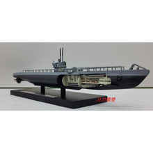 ATLAS World War II Germany U-26 1940 Submarine Model 1/350 Scale Diecast Finished Alloy Toy For Collect Gift