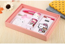 Hello kitty Cartoon Cute 20000mah Power Bank External Universal Battery Charger Powerbank for iphone7 7plus samsung s5 s6