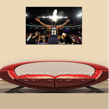 FREE SHIPPING Lebron James Number 23 Quality Canvas Paintiing Support Base Christmas Decor(Unframed)60x90cm(China)