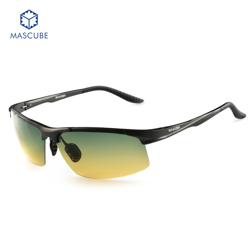 2017 Brand Men Polarized Sunglasses Aluminum Alloy Frame Fashion Driving Mirror Traveling Sport Eyewear with Box and Cloth <br><br>Aliexpress