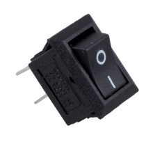 MYLB-5 x AC 250V 3A 2 Pin ON/OFF I/O SPST Snap in Mini Boat Rocker Switch