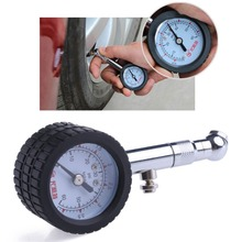 YD-6025 Accurate Car Automobile Tire Air Pressure Gauge 0-60 PSI Dial Meter Drop shipping(China)
