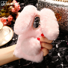 Buy AKABEILA Silicon Case Leagoo M5 Cases Rabbit Hair Bling Diamond Leagoo M5 Cover Soft TPU Cute Anti-knock Covers for $7.47 in AliExpress store