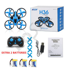 Mini Drones JJRC H36 Micro Quadcopters Professional Drones Flying Helicopter Remote Control Toys Nano Copters VS H20  CX10