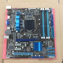 original motherboard For P7H55-M Socket LGA 1156 DDR3 H55 16GB for i3 i5 i7 CPU Desktop motherboard Free shipping