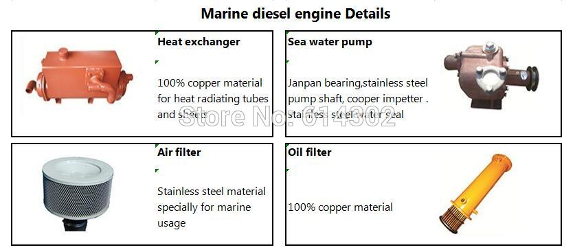 marine engine infor