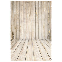 1x1.5M Retro Wood Wall Floor Baby Photography Backdrop Photo Background Props