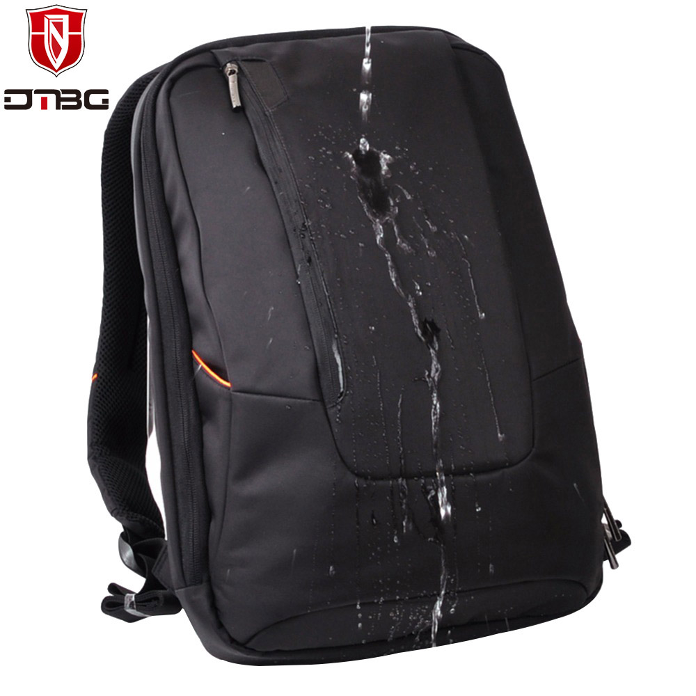 DTBG Extended Backpack for 15.6 inch Computer Teenagers Anti theft School Bag Waterproof Nylon Business Bag Men Travel Daypack<br>