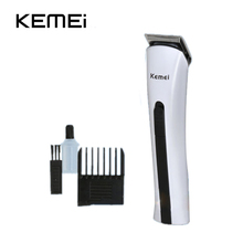 Buy Brand KM-2516 EU plug mini kids baby care electric rechargeable kemei hair trimmer clipper professional set haircut machine for $10.66 in AliExpress store