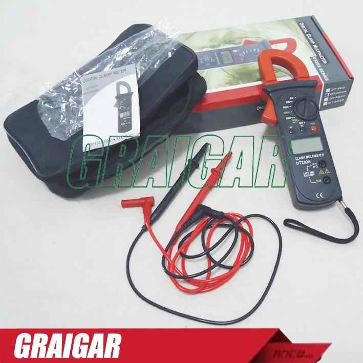 DT202A multimeter digital clamp meter tester digital electrical voltage measurer<br><br>Aliexpress